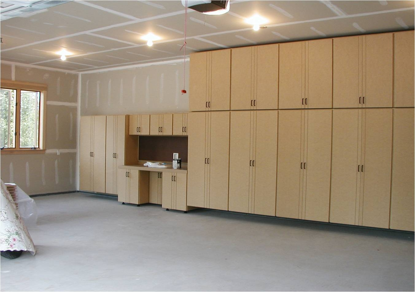 Wood Garage Storage Cabinets With Doors