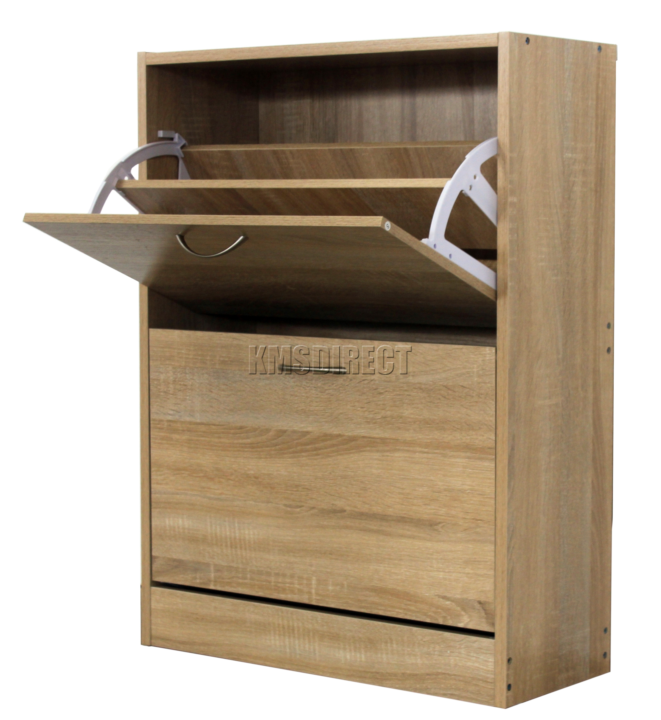 Wood Shoe Storage Cabinet