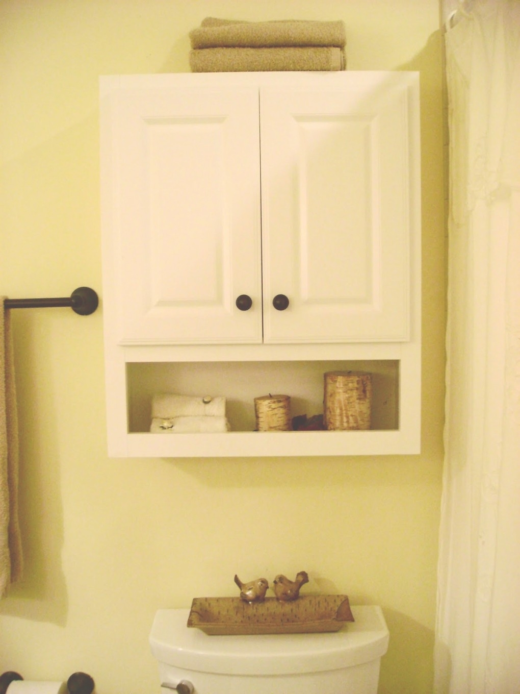 Bathroom Storage Cabinet Above Toilet