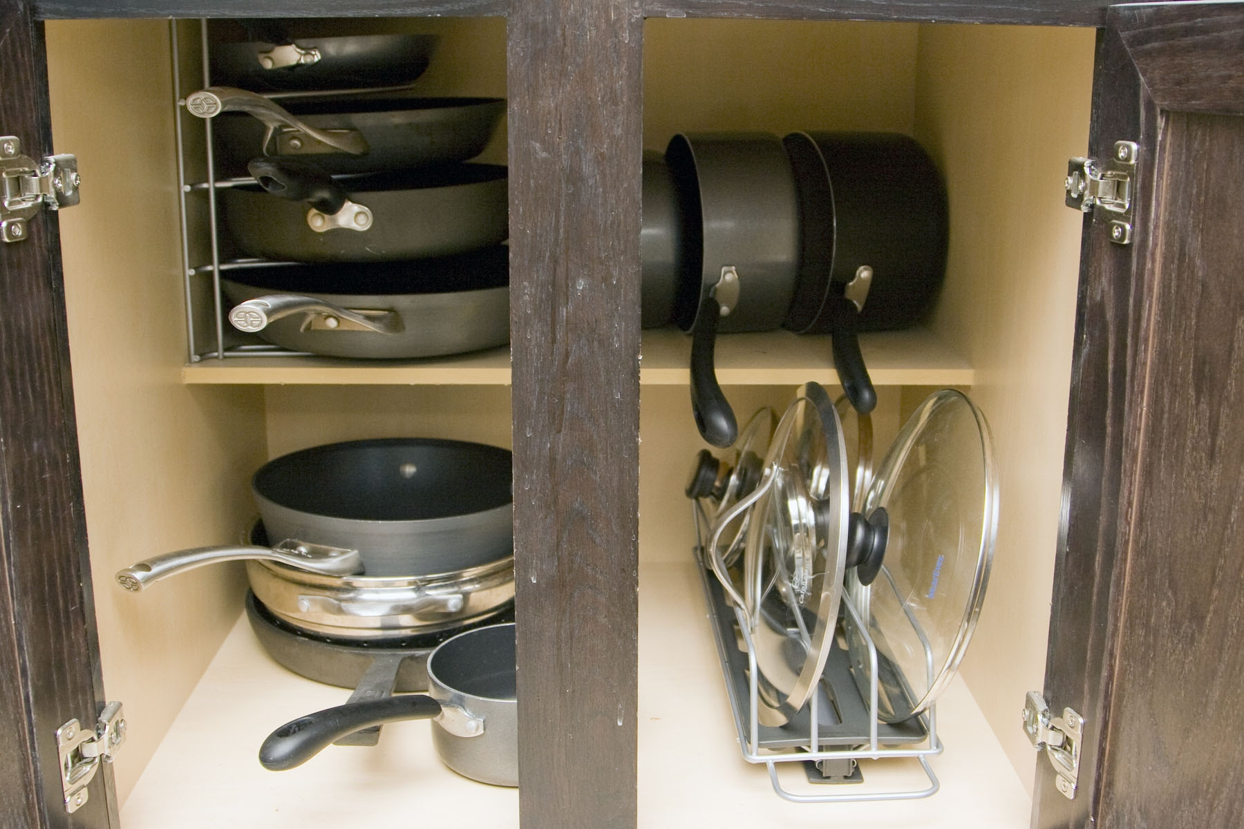 Cabinet Storage For Pots And Pans