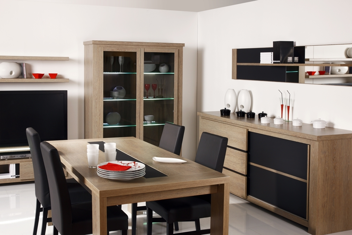 Contemporary Dining Room Storage Cabinets