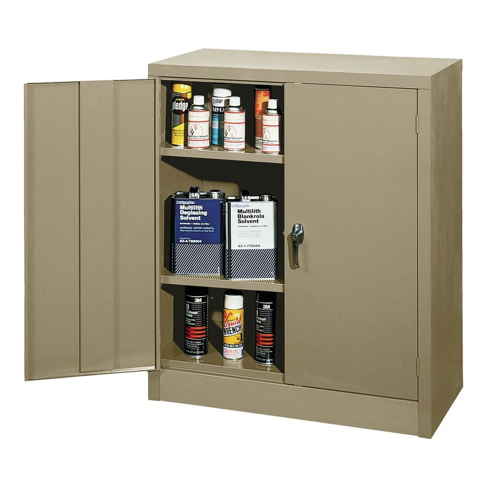 Edsal Counter Height Storage Cabinet