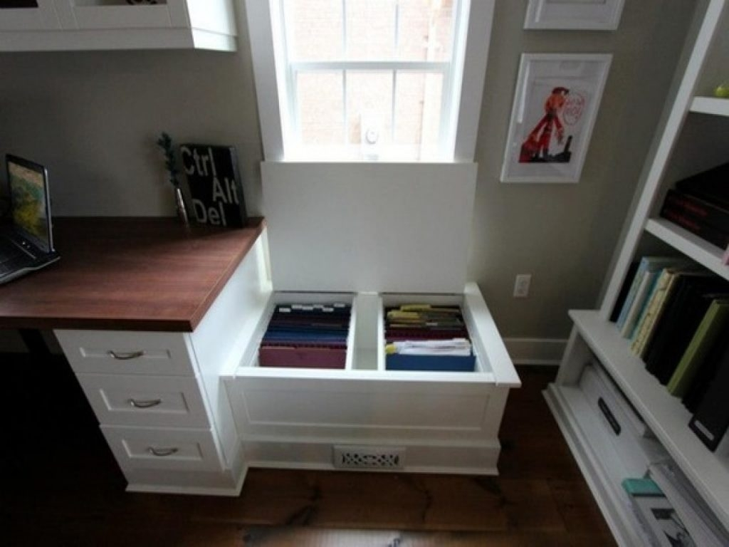 Filing Cabinet Storage Bench