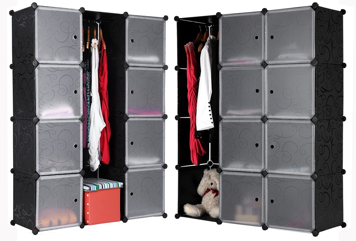 Hanging Clothes Storage Cabinet