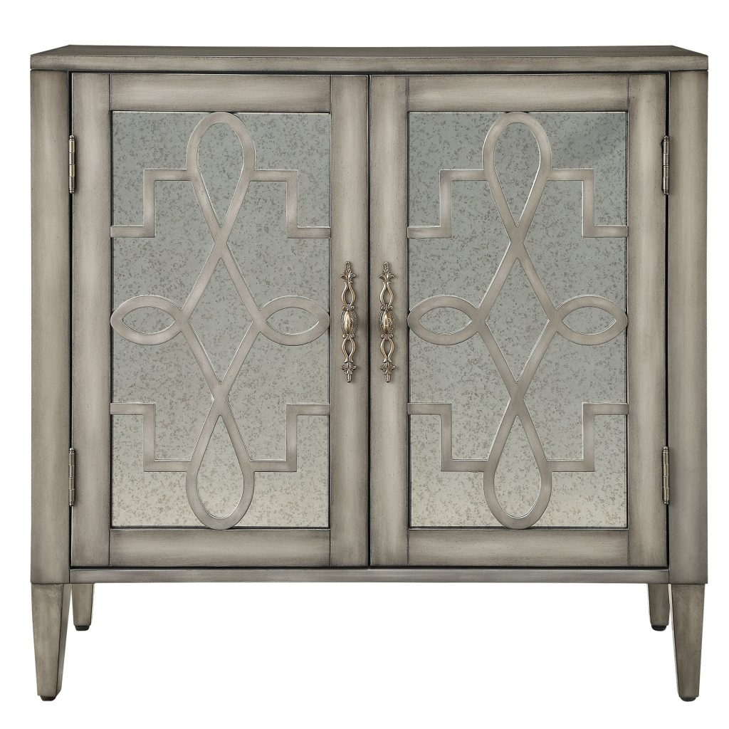 Hollywood Mirrored Storage Cabinet
