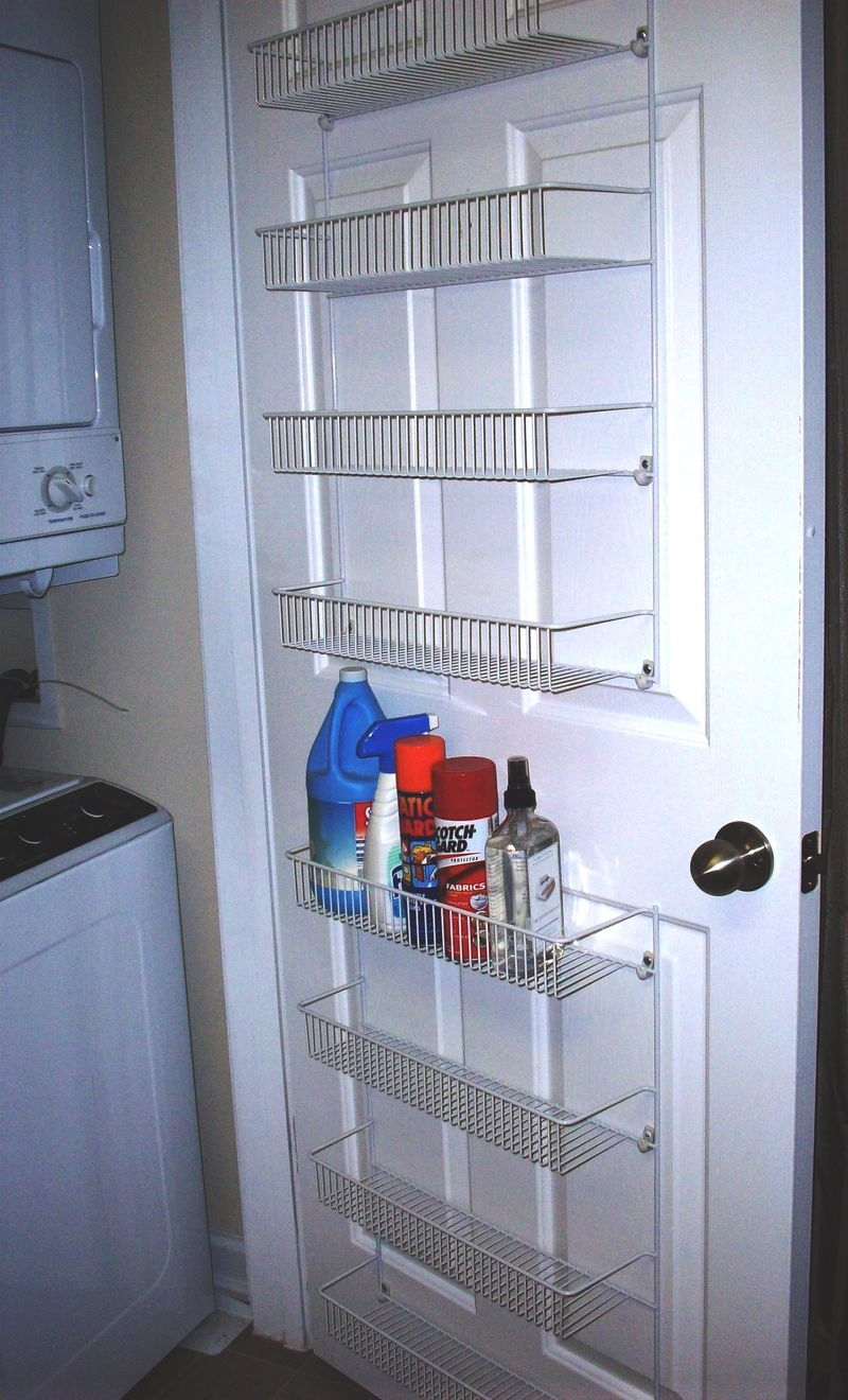 Kitchen Cabinet Door Mounted Storage