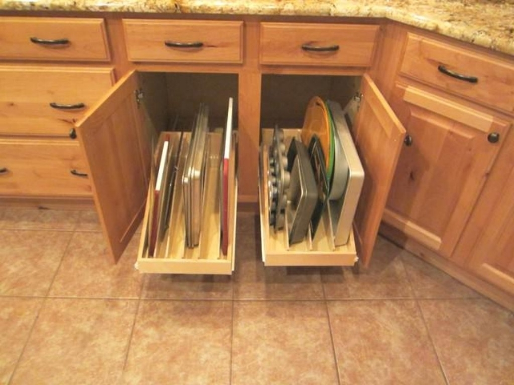 Kitchen Cabinets Storage Systems