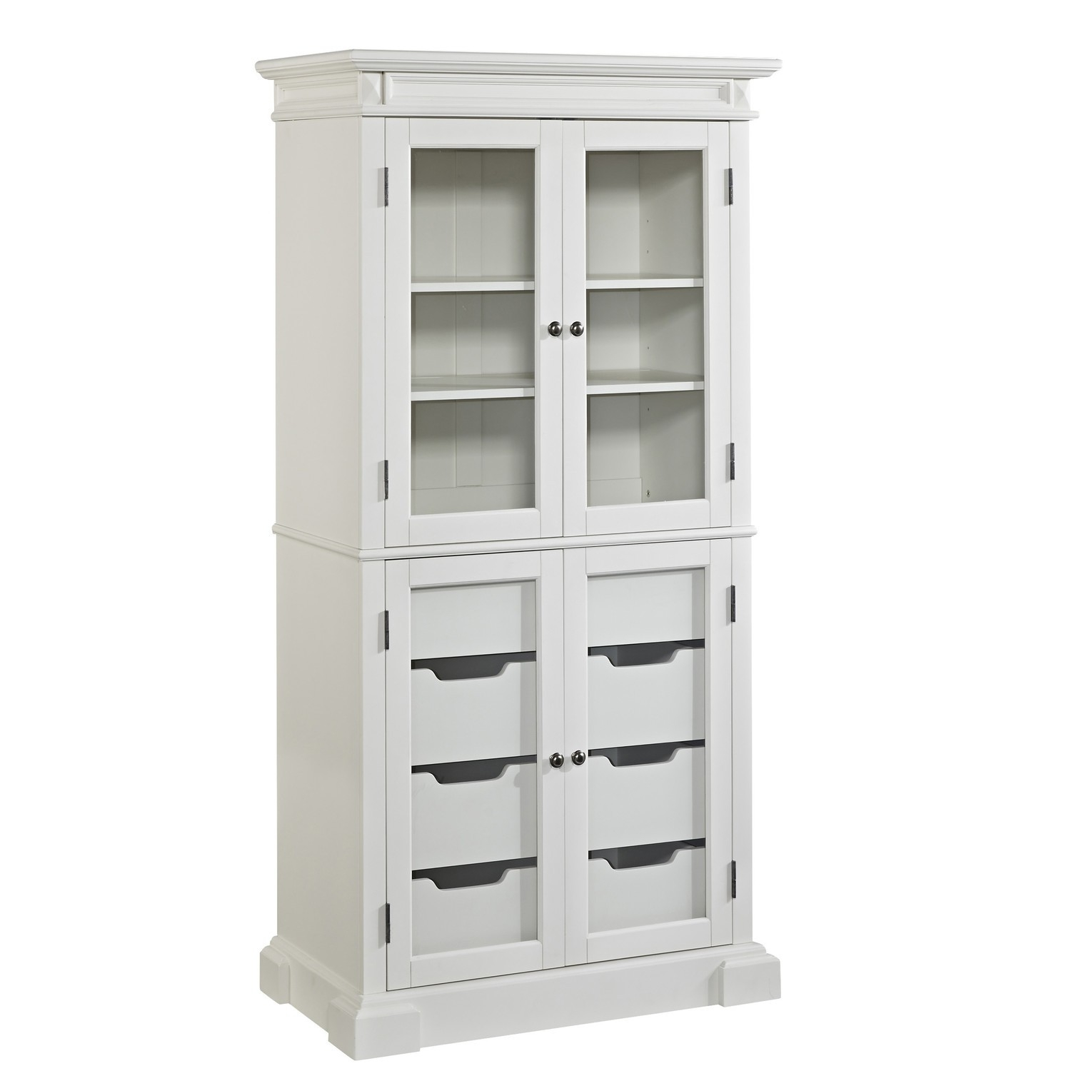 Kitchen Storage Cabinets With Glass Doors