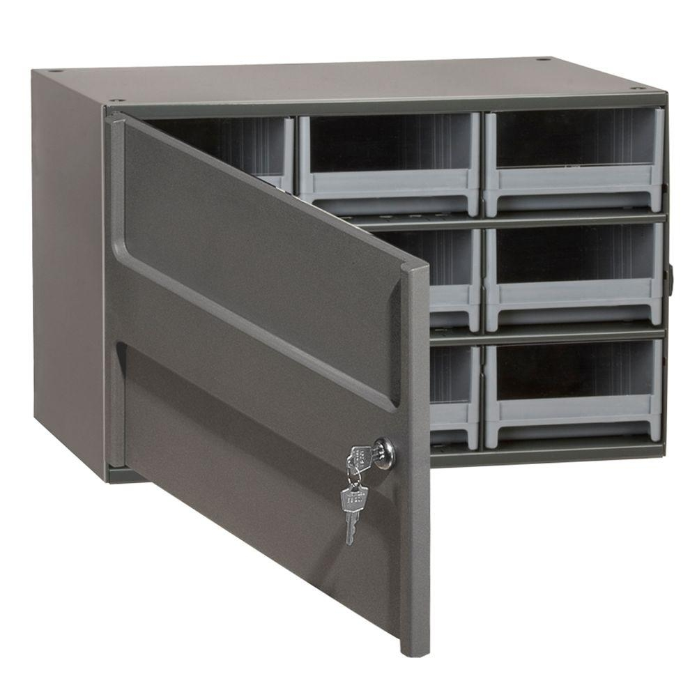 Locking Storage Cabinets With Drawers