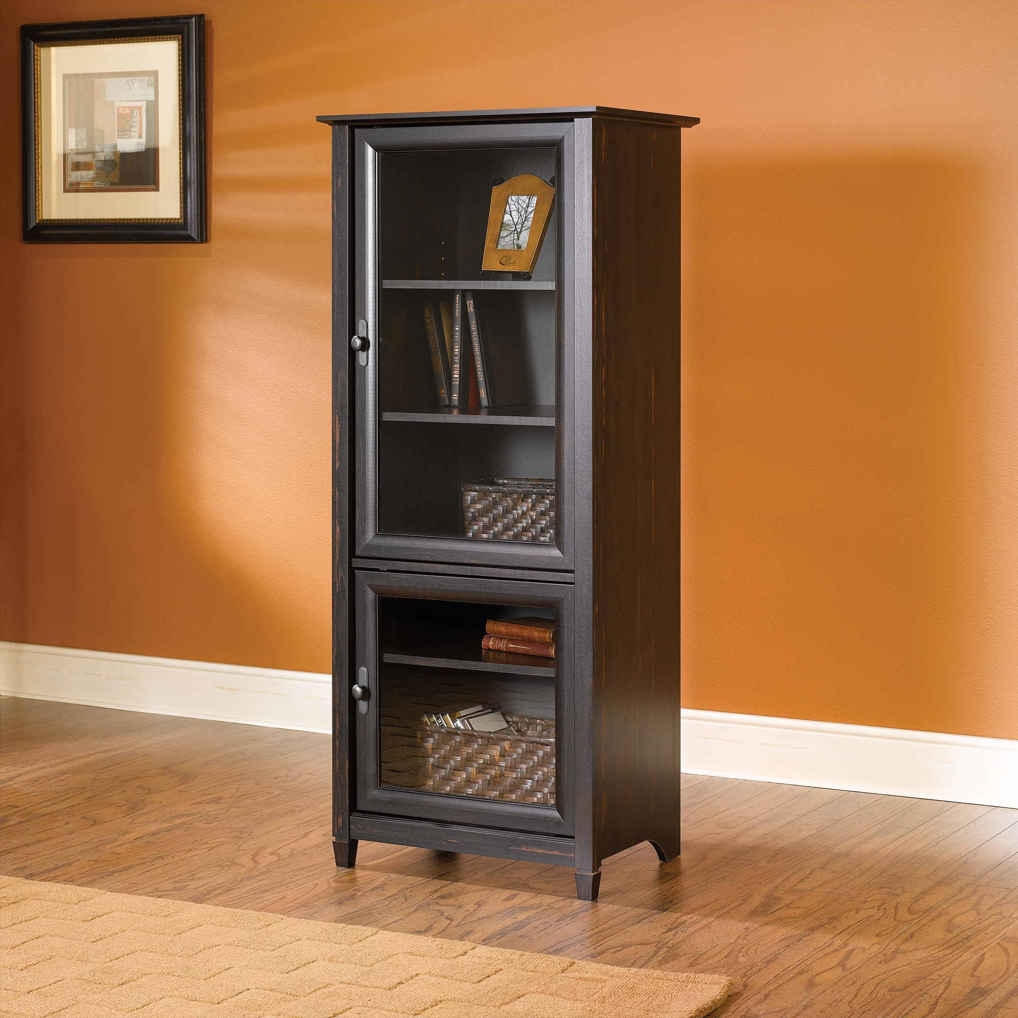 Media Component Storage Cabinet