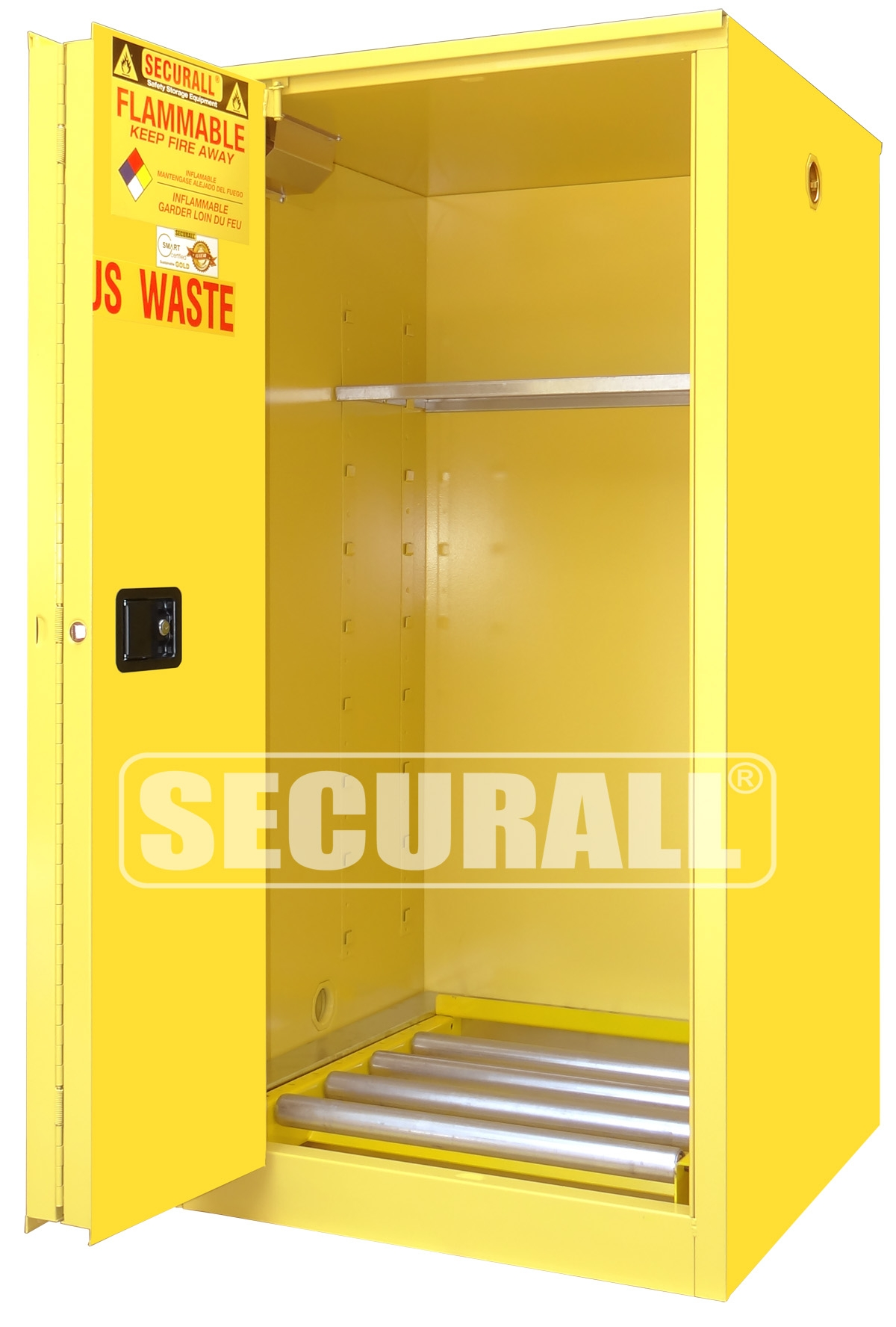 Metal Fuel Storage Cabinetssecurall hazmat storage drum storage cabinets hazardous waste