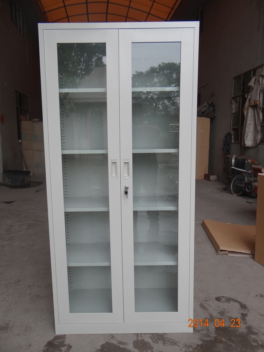 Metal Storage Cabinet With Glass Doorscirco the office staff uniform phenolic lockers metal locker