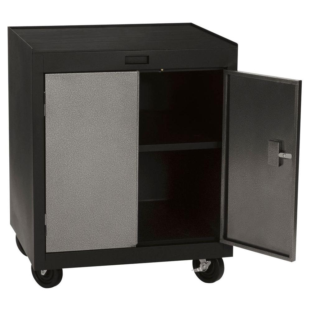 Mobile Storage Cabinets With Doors