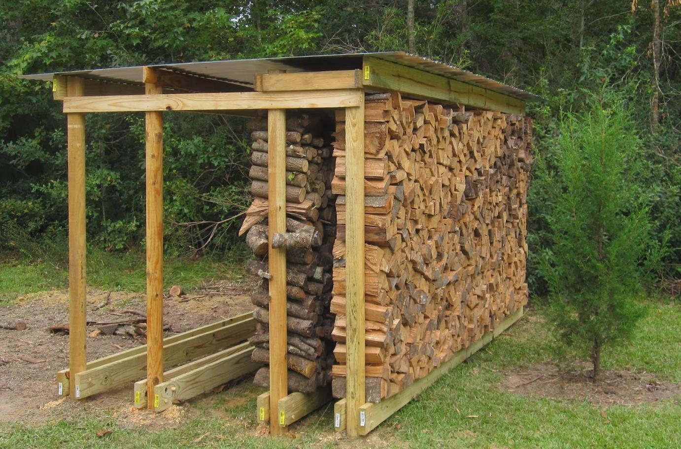 Outdoor Firewood Storage Cabinet