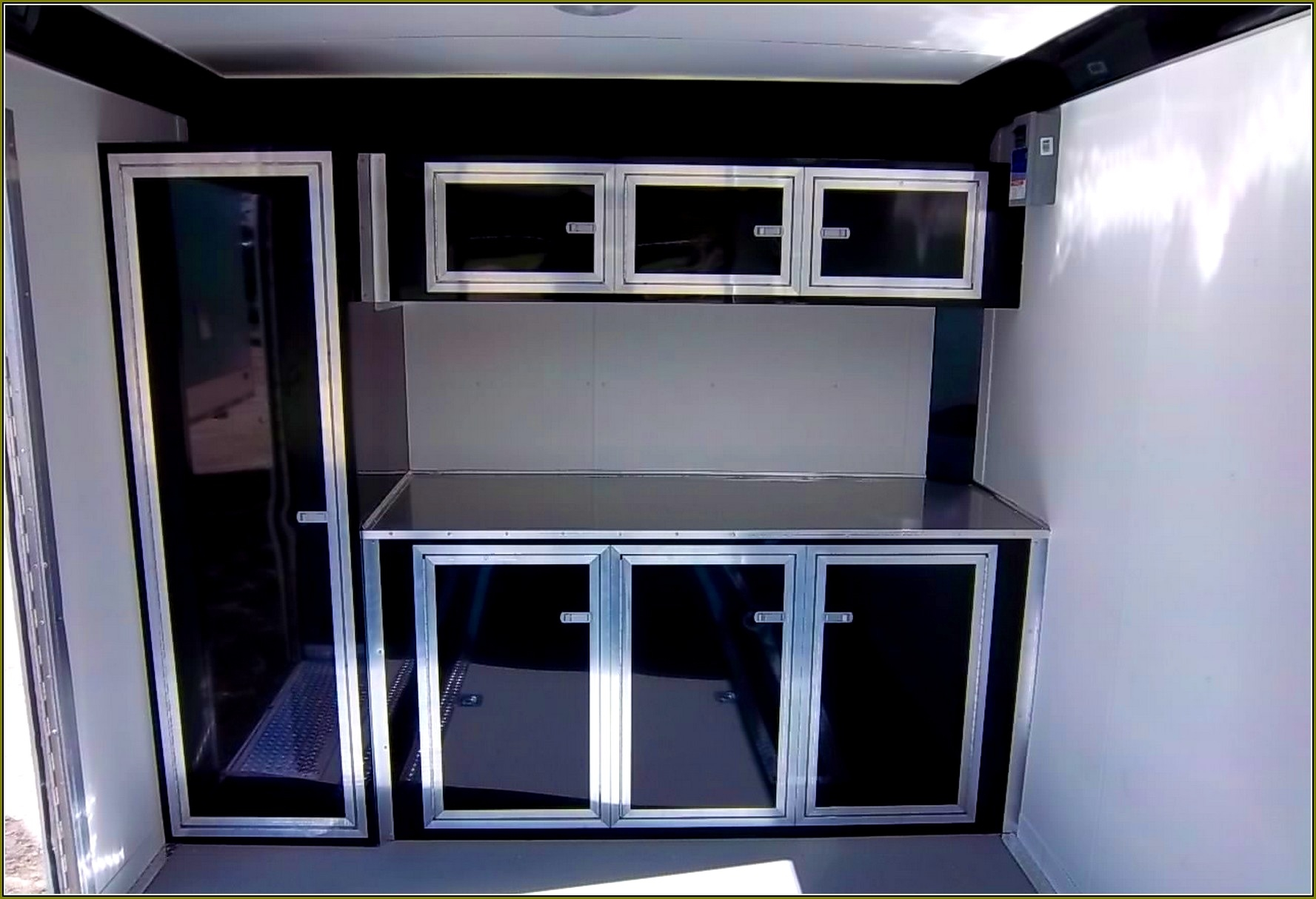 Race Trailer Storage Cabinets