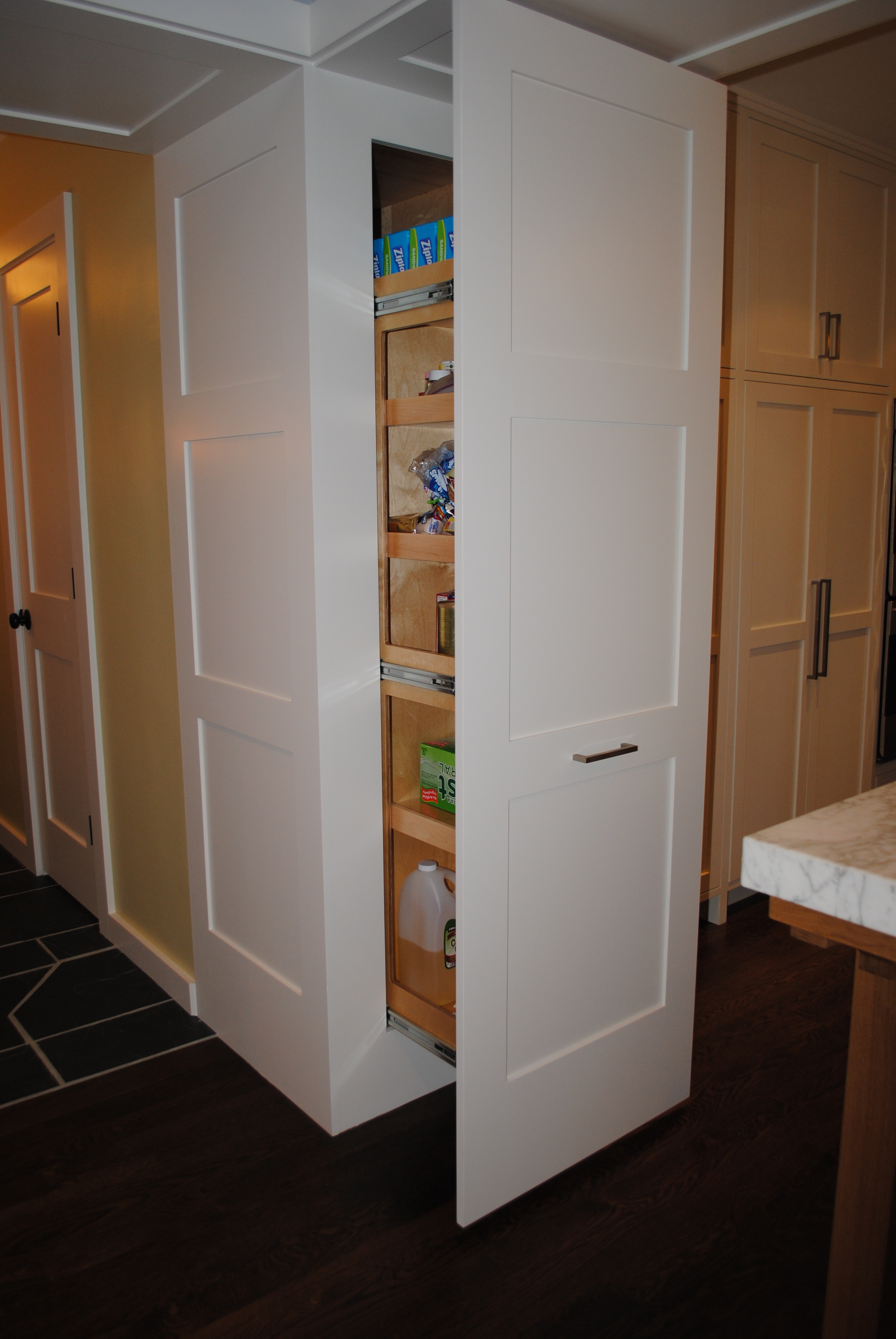 Recessed Pantry Storage Cabinet