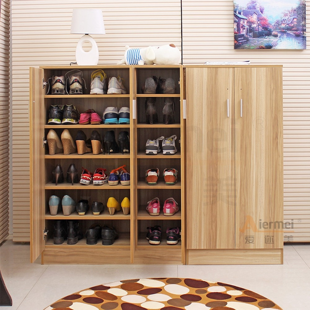 Solid Wood Shoe Storage Cabinet1000 X 1000