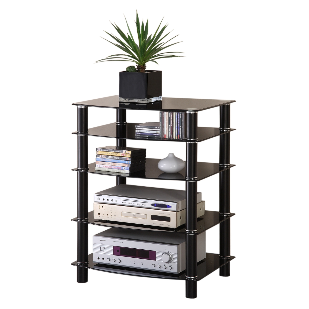 Stereo Component Storage Cabinet