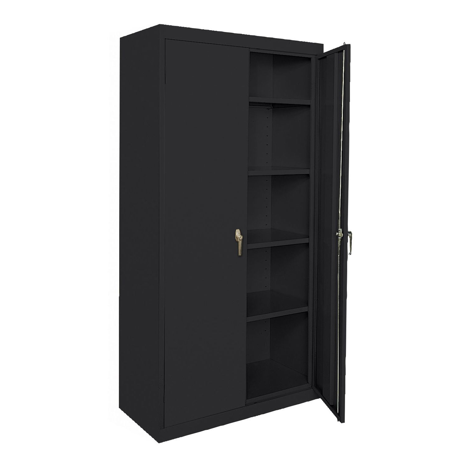 Storage Cabinet With Doors And Lock