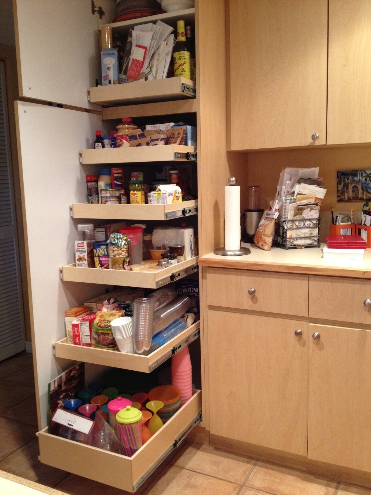 Storage Cabinets For Kitchen Pantry