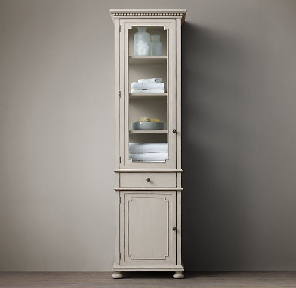 Permalink to Tall Bathroom Storage Cabinets With Doors