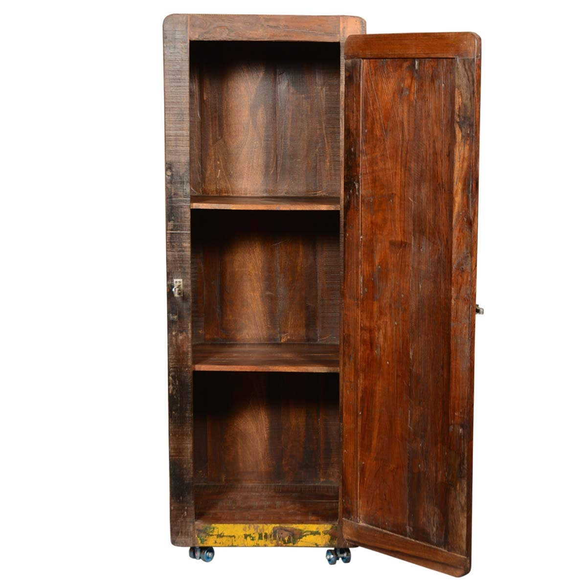 Tall Rustic Storage Cabinet