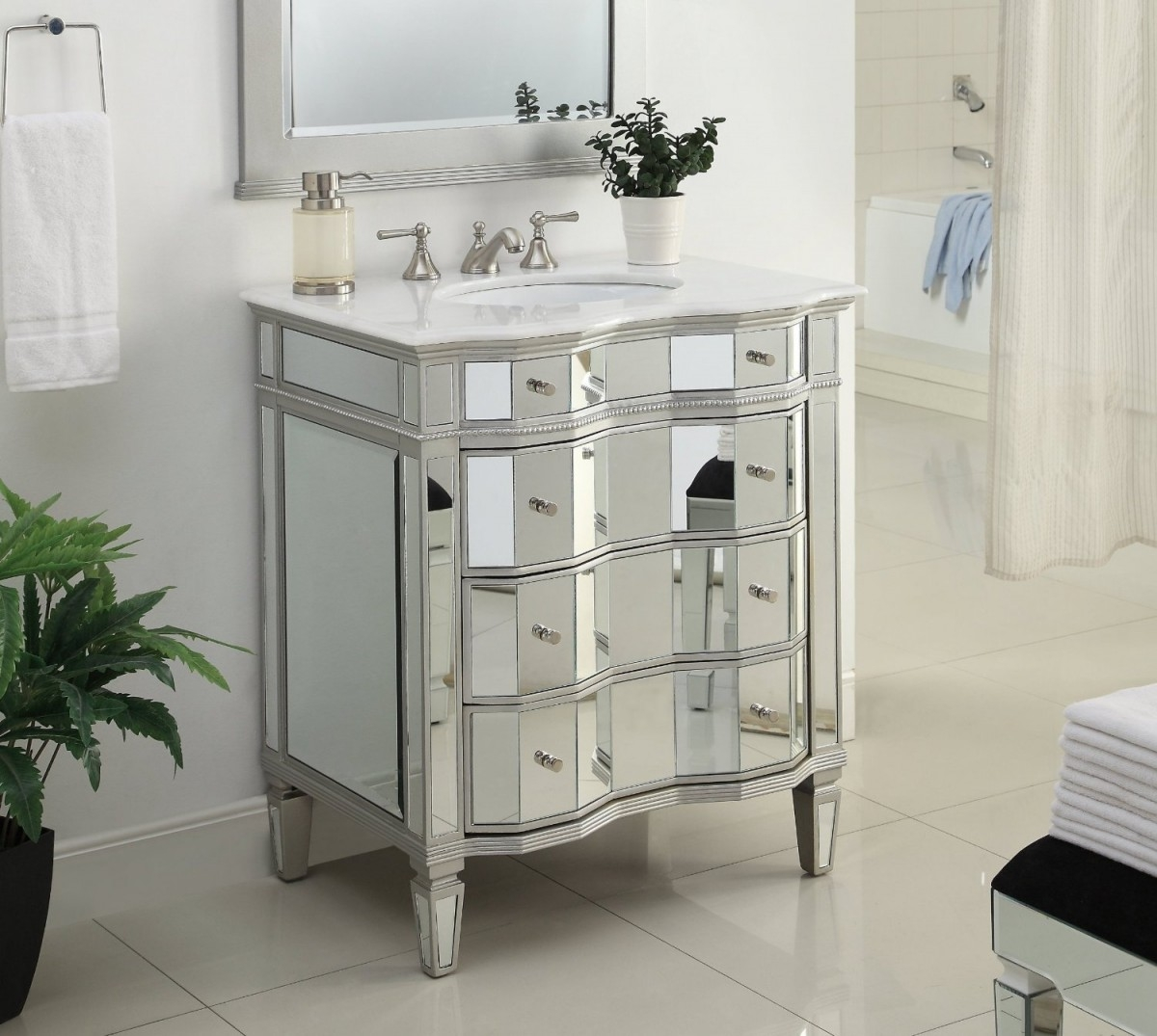 Under Sink Storage Cabinet Bathroom