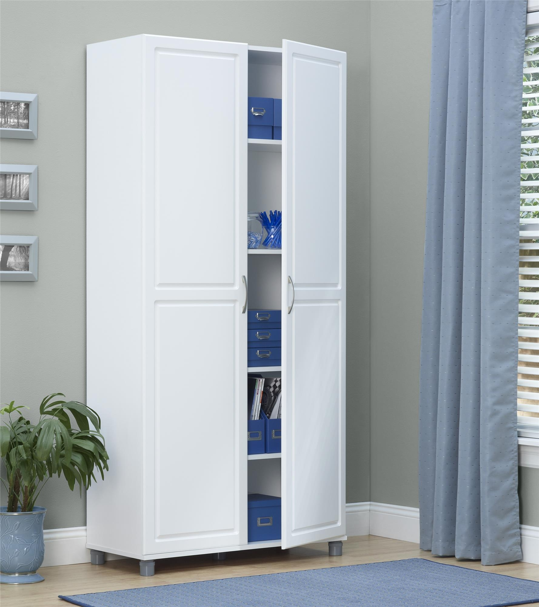 Utility Storage Cabinet With Doors