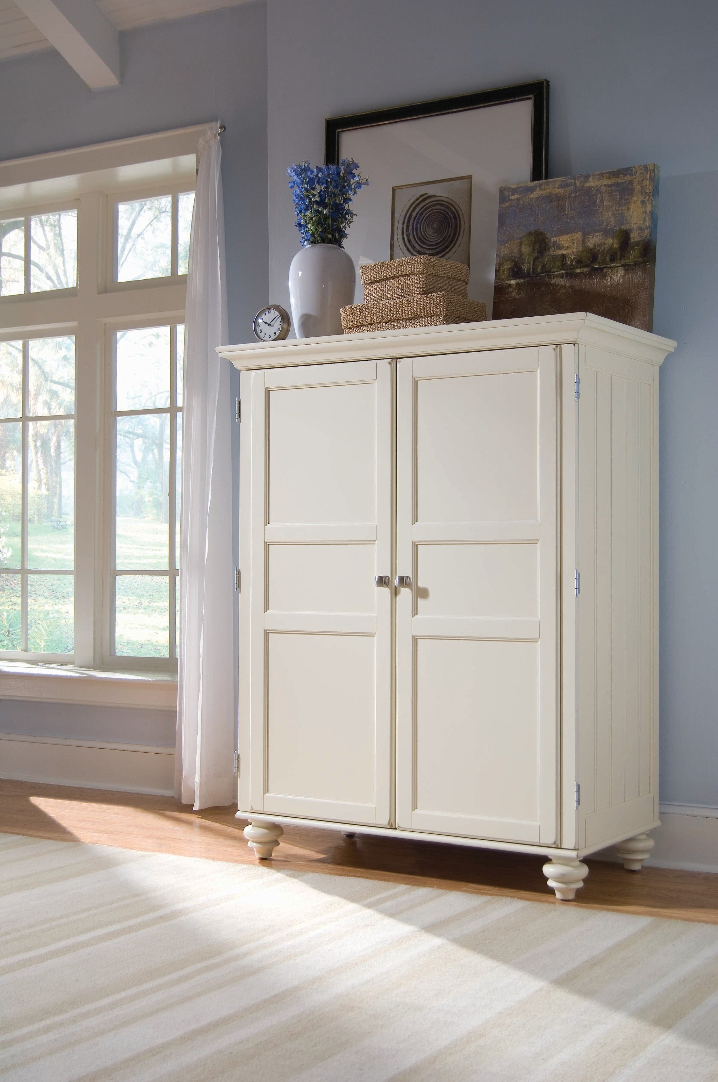 White Storage Cabinet For Bedroom