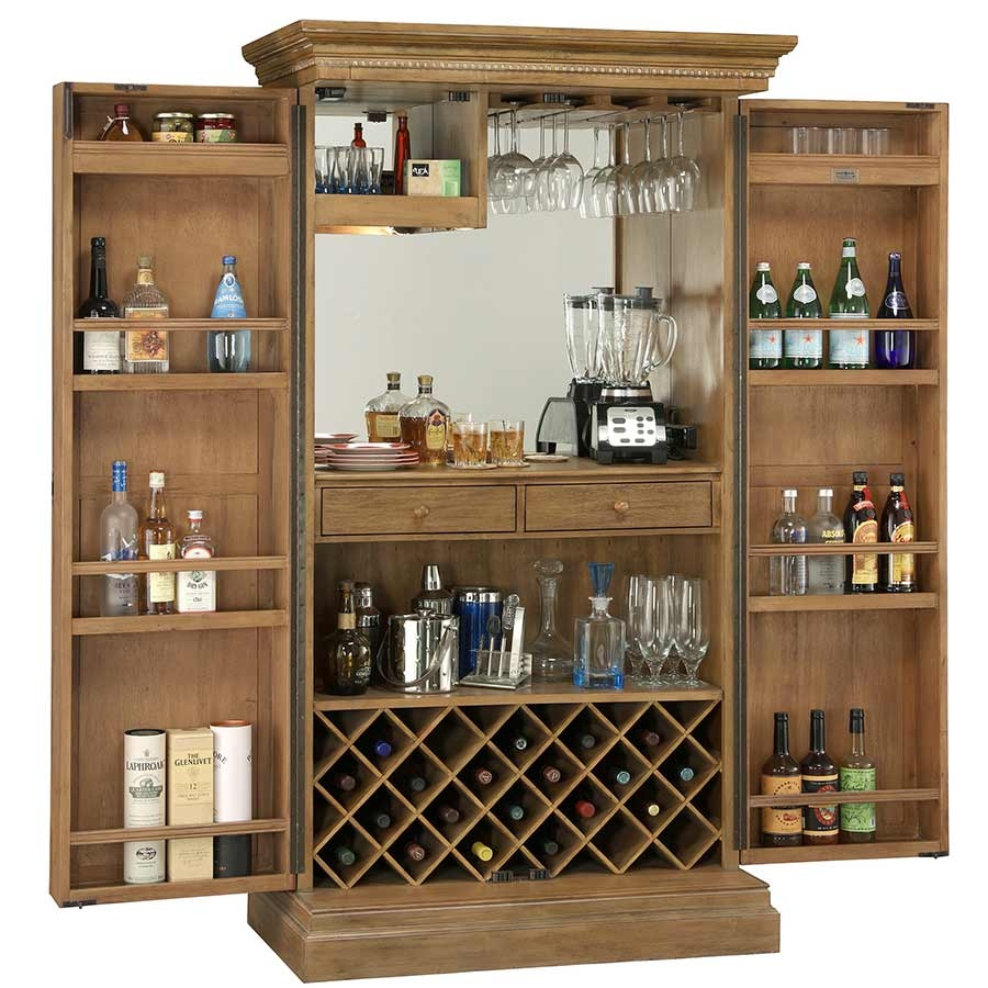 Wine Bar Storage Cabinet