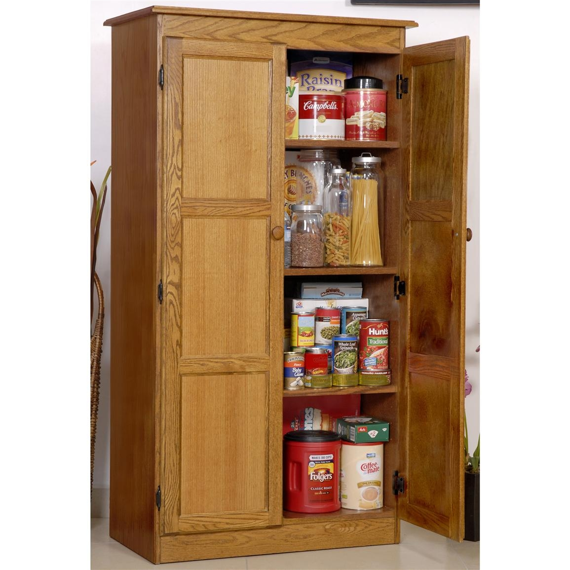 Wood Storage Cabinet For Office
