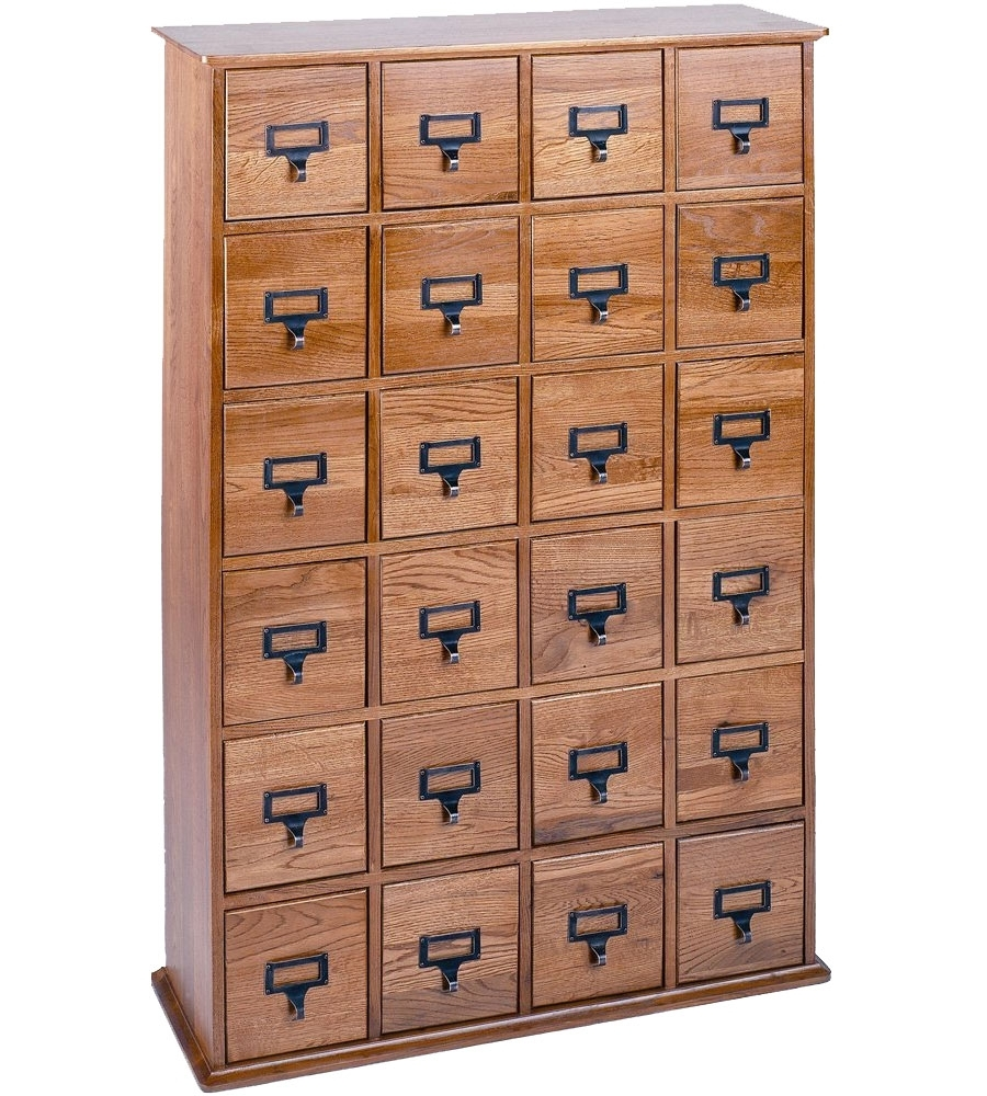 Apothecary Cd Storage Cabinet