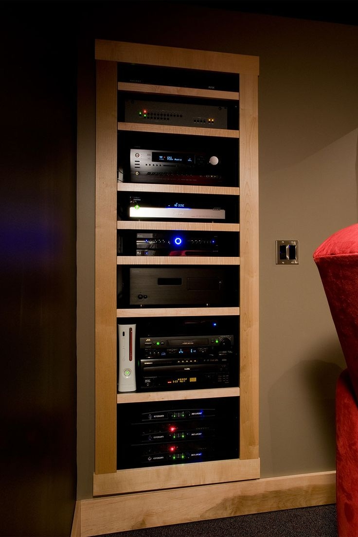 Audio Equipment Storage Cabinet