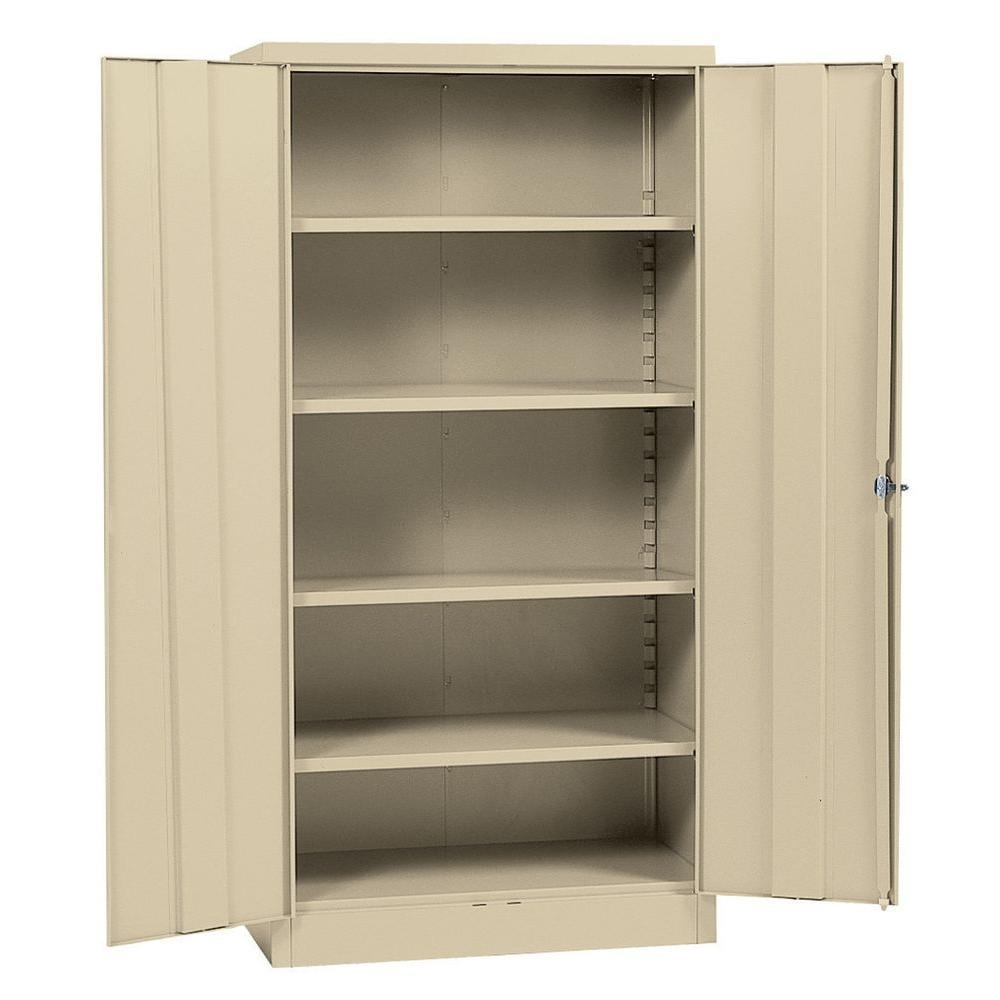 Bin Storage Cabinet With 36 Wide Shelves