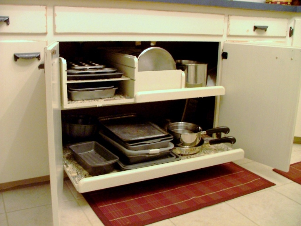 Cabinet Storage Ideas For Pots And Pans