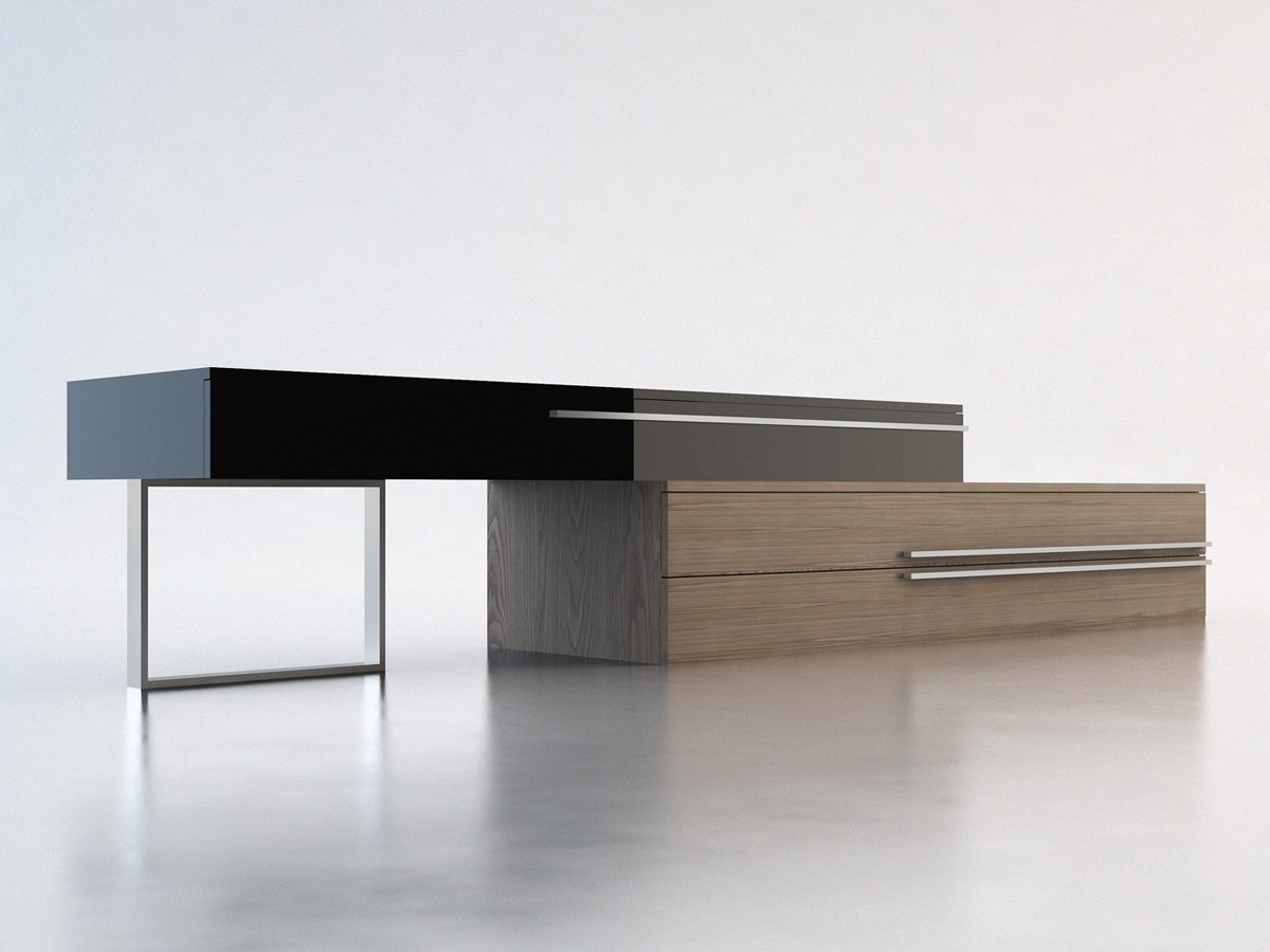 Contemporary Media Storage Cabinets