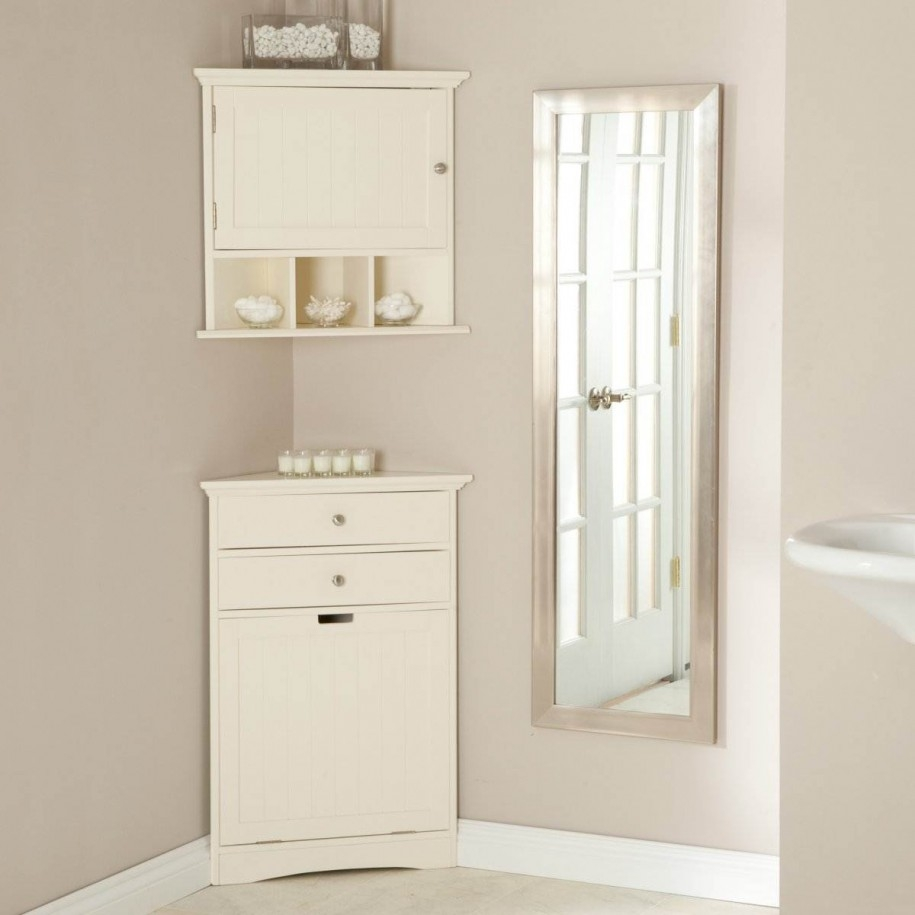 Corner Storage Cabinets For Bathrooms