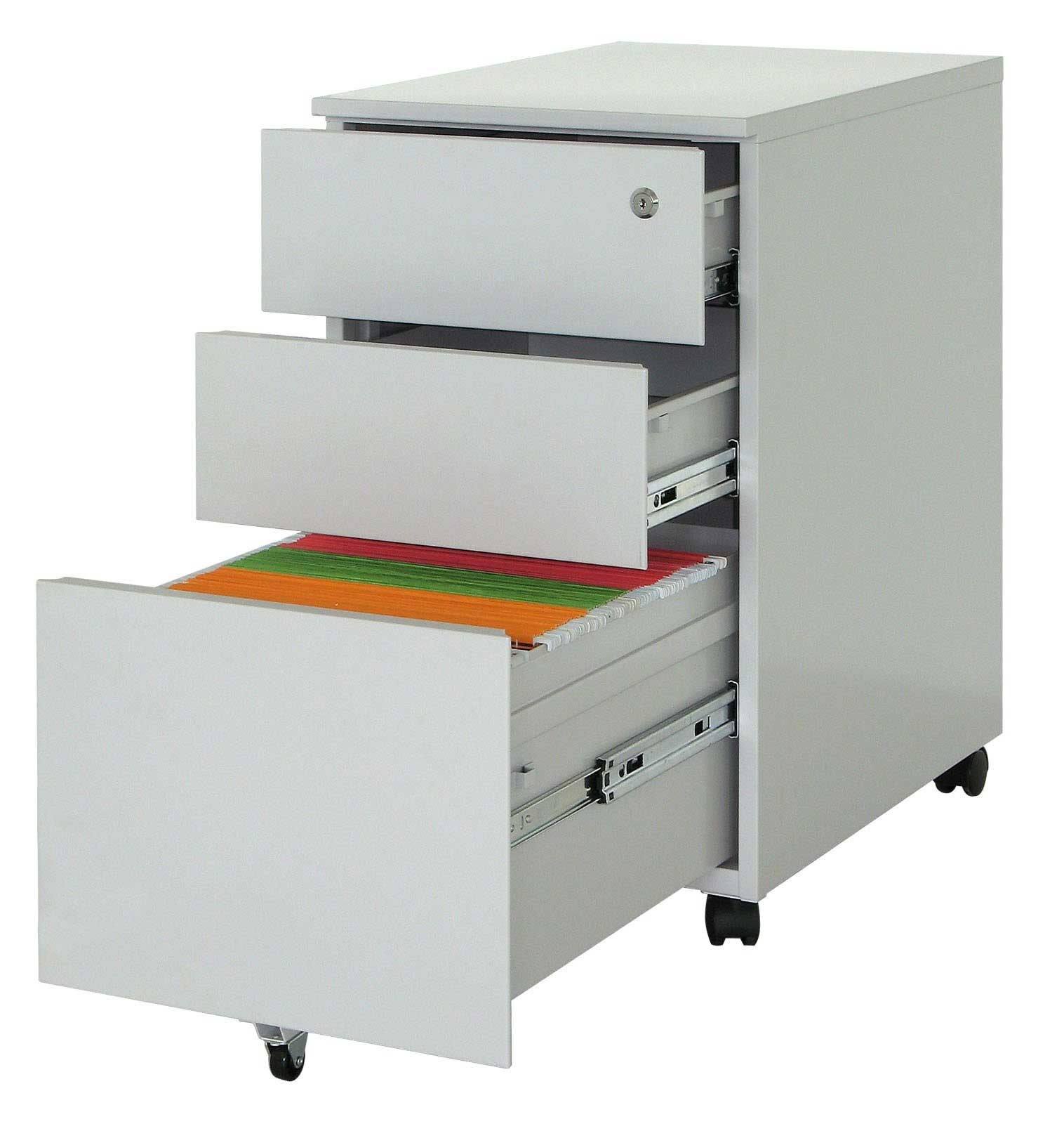 File Cabinet With Storage Drawers