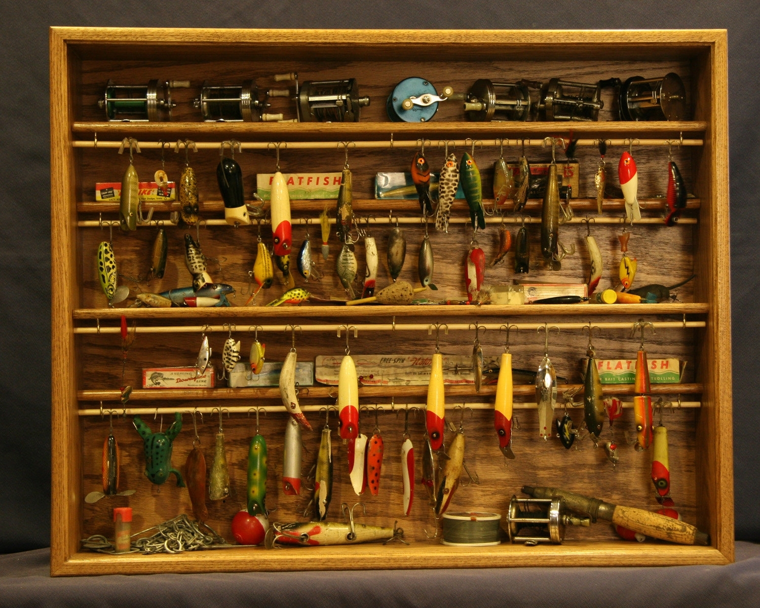 Fishing Tackle Storage Cabinet Plans