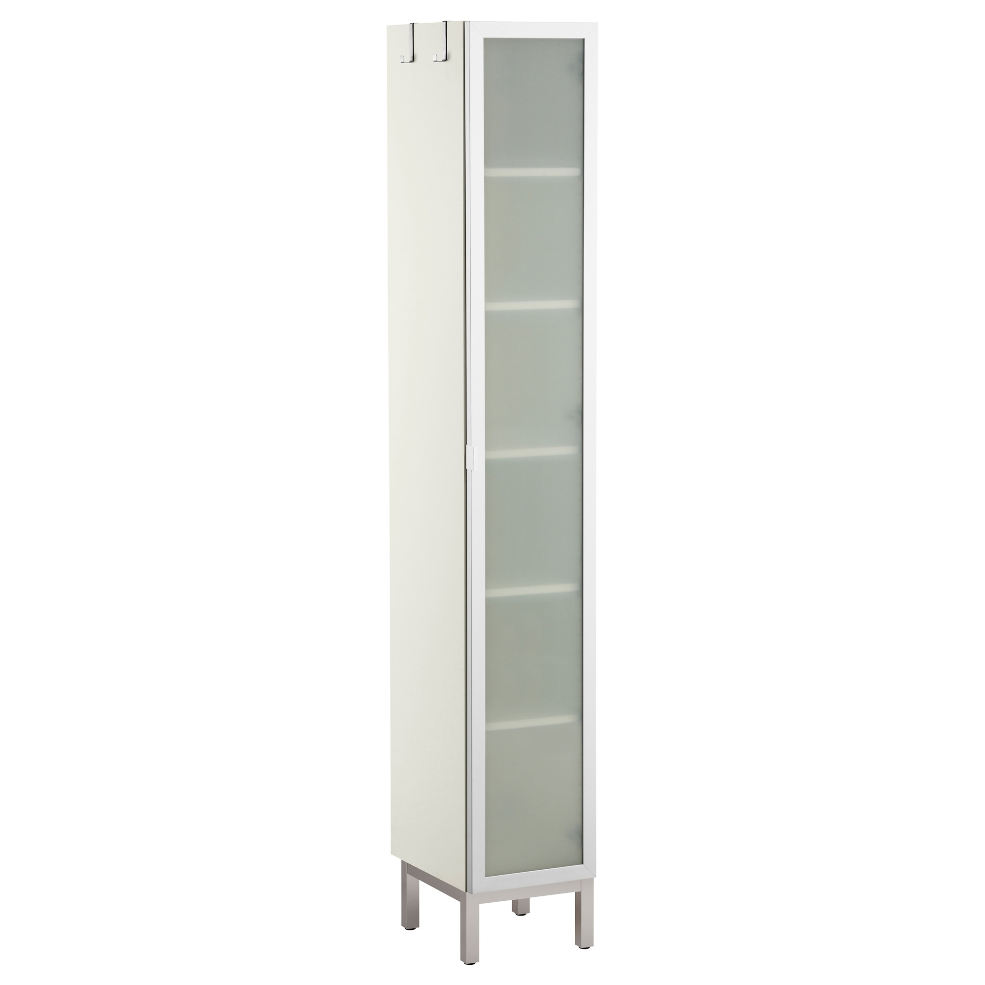 Frosted Glass Storage Cabinet