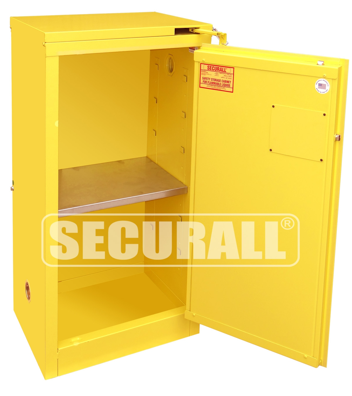 Gas Can Safety Storage Cabinet