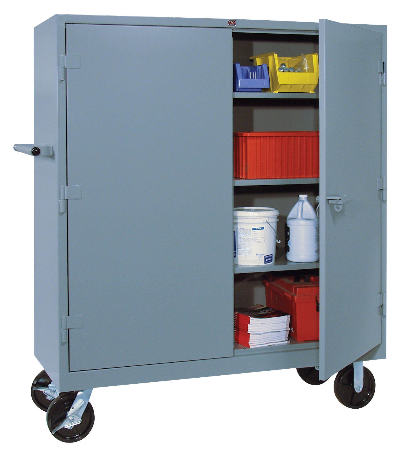 Heavy Duty Storage Cabinets With Wheels