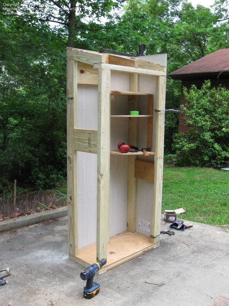 Insulated Outdoor Storage Cabinet