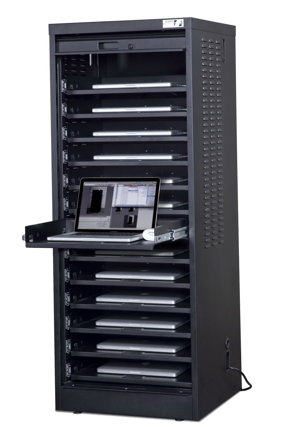Laptop Storage Cabinet With Network