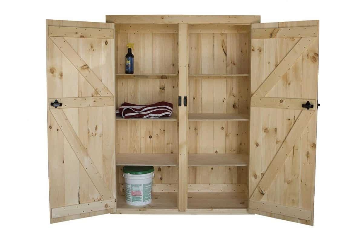 Large Wooden Storage Cabinets
