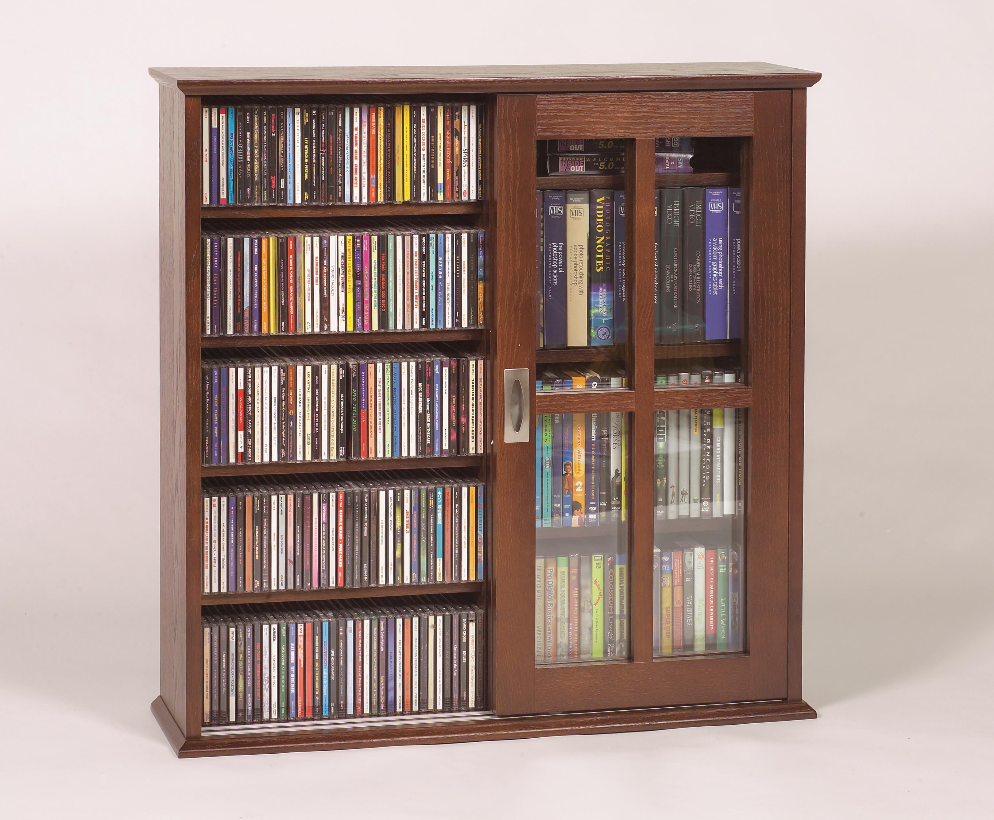 Library Media Storage Cabinet