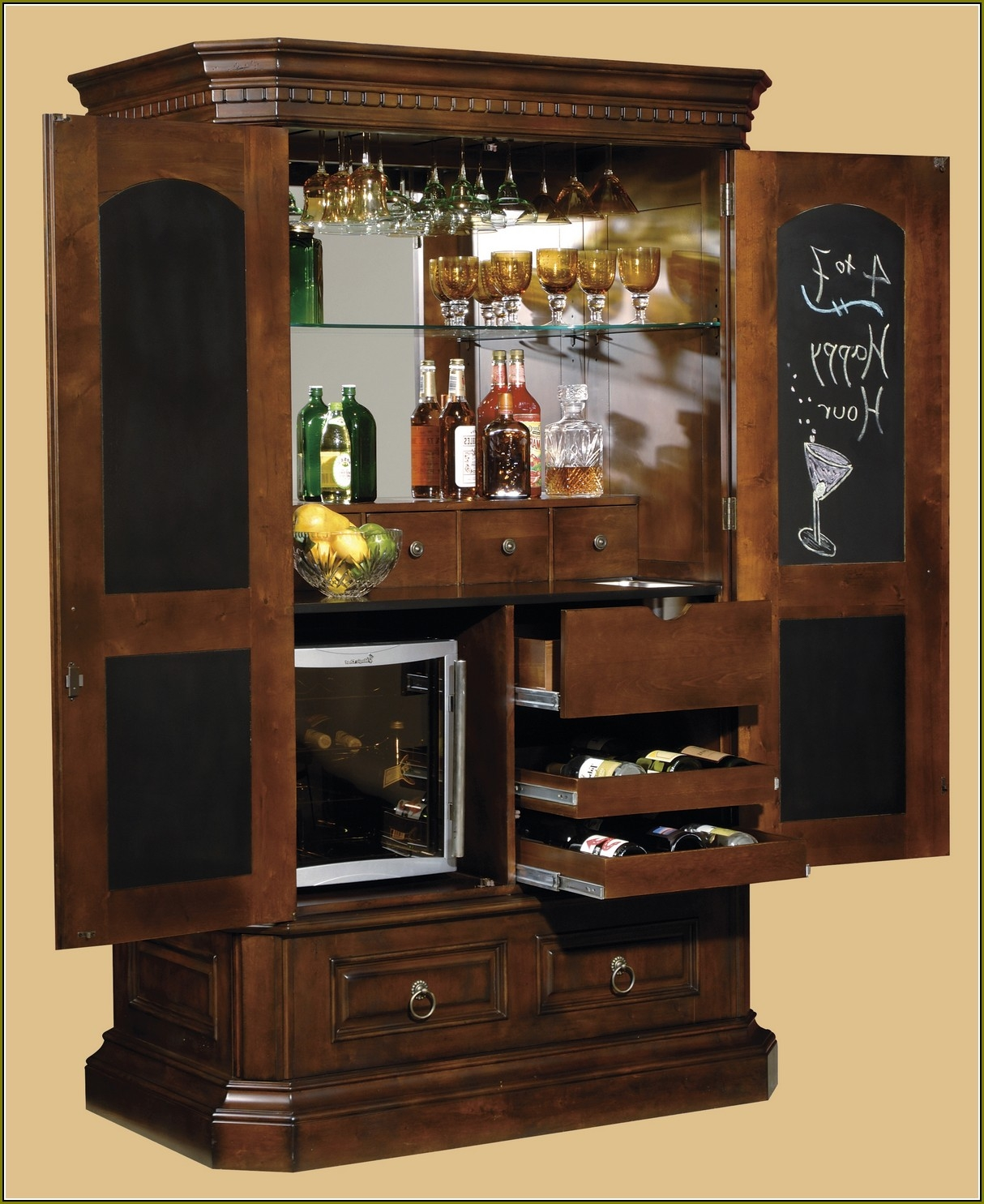 Liquor Storage Cabinet Ideas