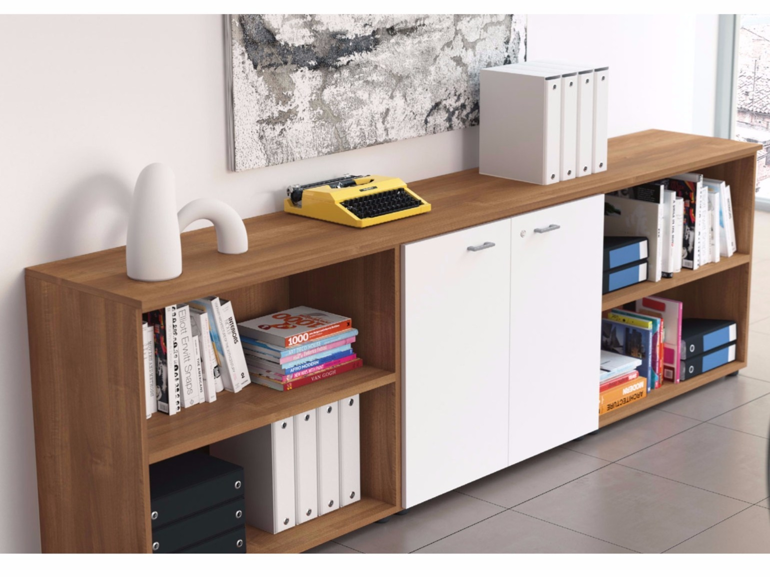 Modern Home Office Storage Cabinets