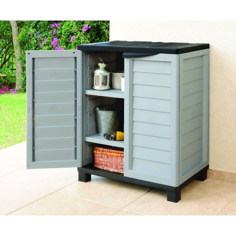 Outside Storage Cabinets With Shelves