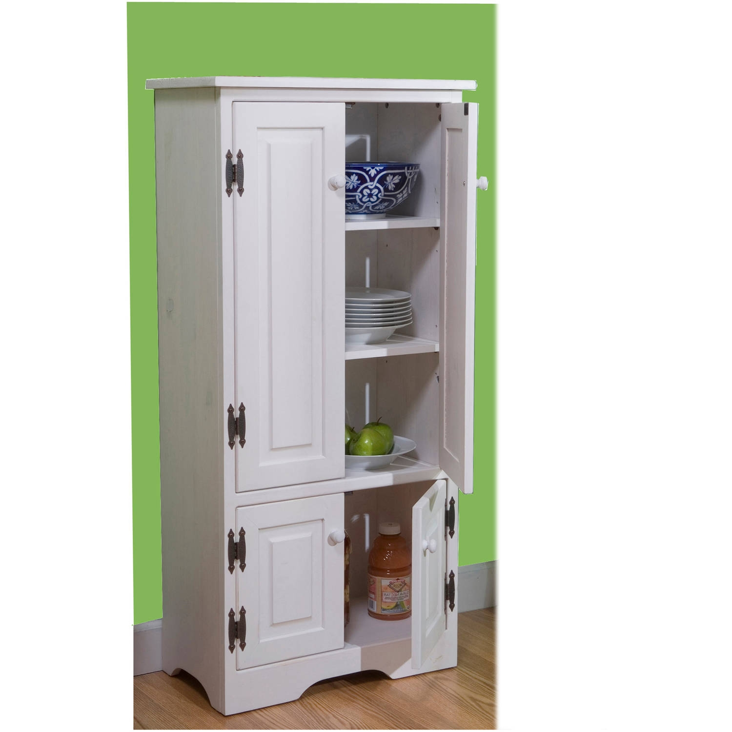 Pantry Storage Cabinet With Doors